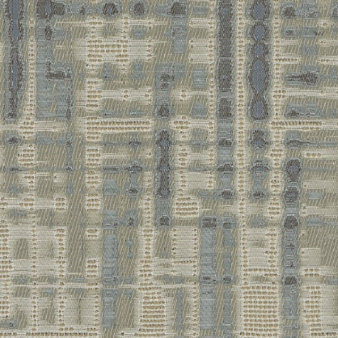 Designtex Hatchmark Water Blue Upholstery Fabric