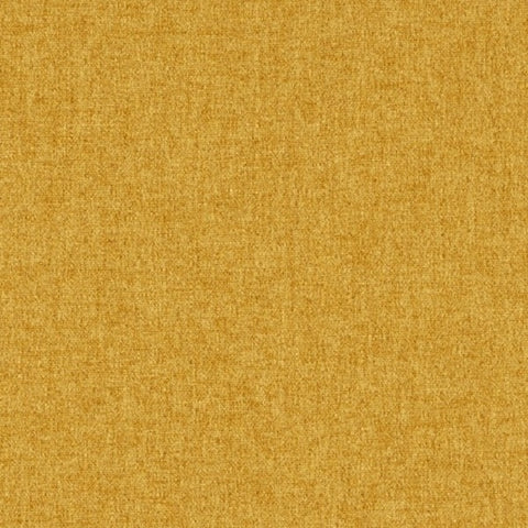 Designtex Home Decor Fabric Remnant Brushed Flannel Yellow Gold