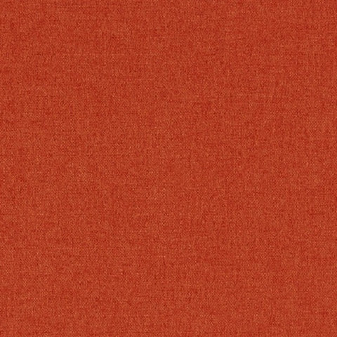 Designtex Brushed Flannel Flame Orange Home Decor Fabric