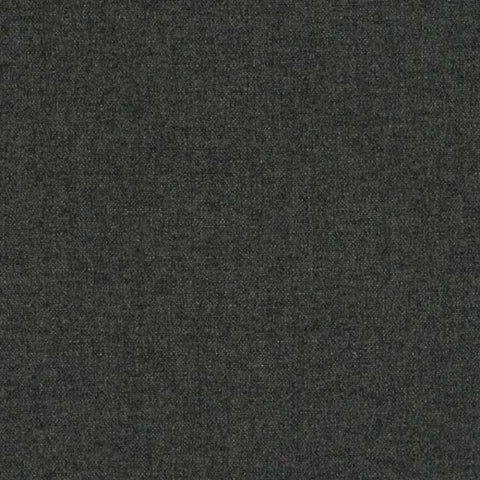 Designtex Brushed Flannel Charcoal Gray Home Decor Fabric