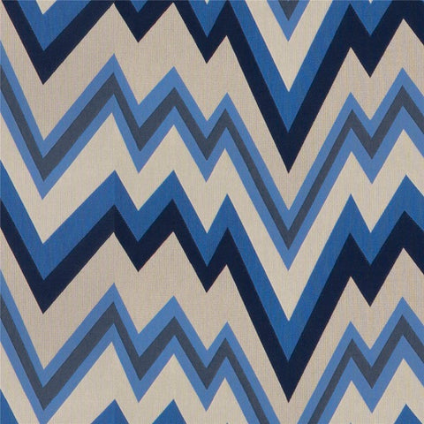 Architex Chevron 57 Agave Blue Upholstery Fabric