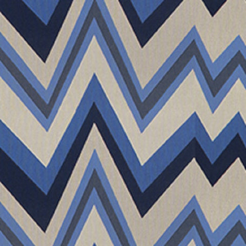 Architex Upholstery Fabric Remnant 57 Chevron Agave