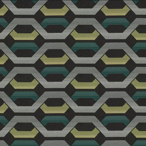 Carnegie Hive 23 Sunbrella Gray Upholstery Fabric