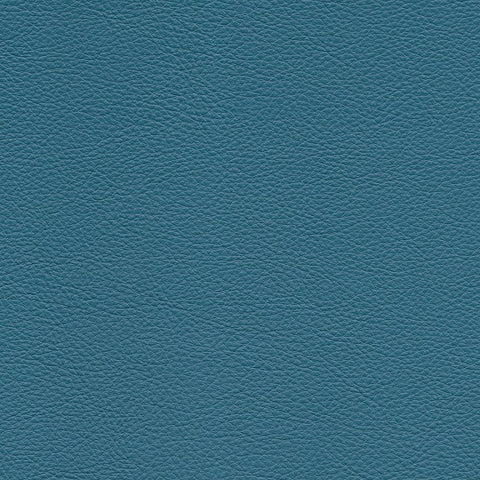 Remnant of Arc-Com Rodeo Cornflower Blue Upholstery Vinyl