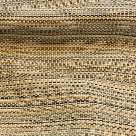 Swavelle Mill Creek Caribe Ebony Gold Black Weaved Upholstery Fabric