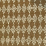 Swavelle Mill Creek Deuce Butternut Brown Beige Diamond Upholstery Fabric