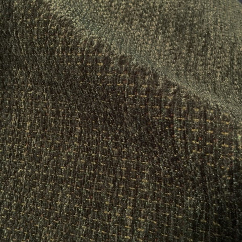 Swavelle Mill Creek Olive Green Weaved Chenille Upholstery Fabric