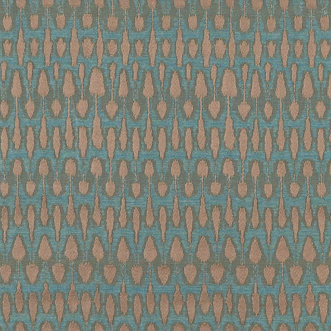 Remnant of Katano Caribbean Upholstery Fabric