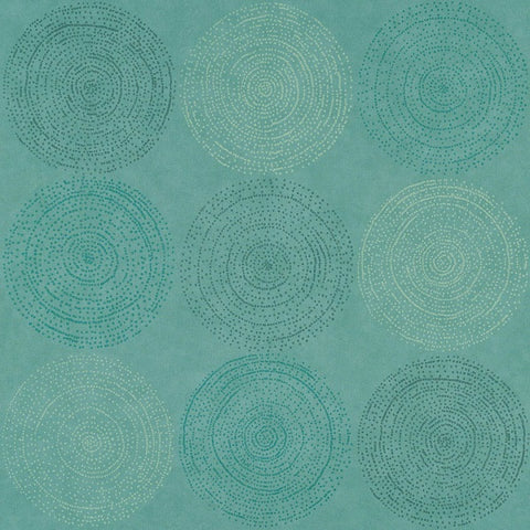 Remnant of Arc-Com Cosmos Seafoam Upholstery Vinyl