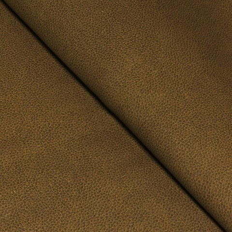 Halo Fabrics Alamo Buckskin Faux Leather Brown Upholstery Vinyl