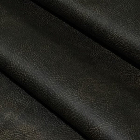 Brisa Distressed Ultraleather Steerhide Faux Leather Brown Upholstery Fabric
