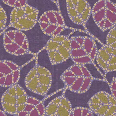 CF Stinson Fabric Remnant of Casablanca Violet