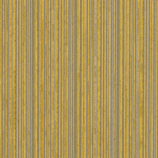 Remnant Of Cf Stinson Continuum Finch Yellow Stripe Upholstery