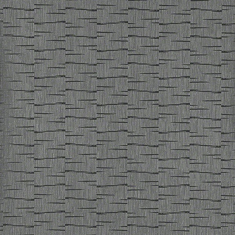 CF Stinson Upholstery Fabric Remnant Dash Licorice