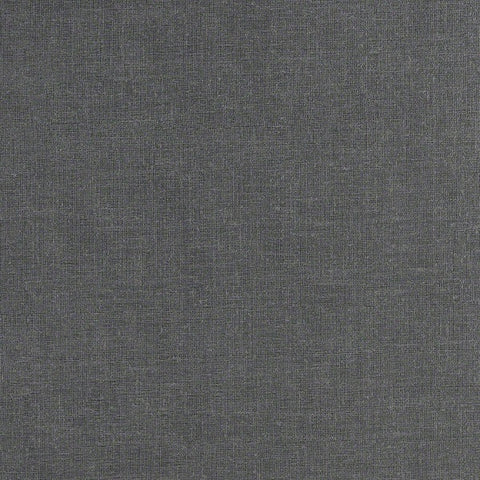 Fabric Remnant of CF Stinson Shantung Graphite Gray Upholstery Vinyl