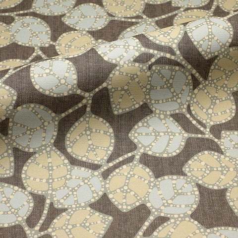 CF Stinson Fabric Remnant of Casablanca Boulder Upholstery Vinyl