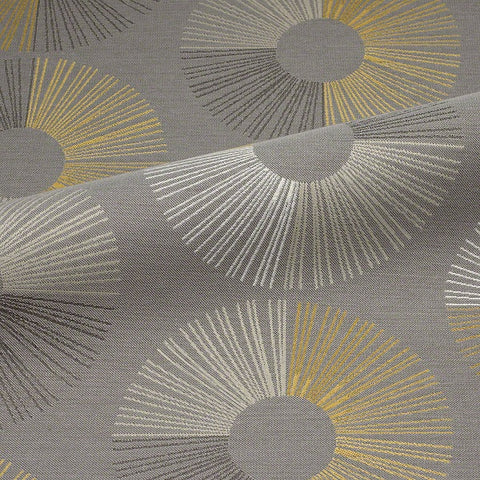 CF Stinson Upholstery Fabric Remnant Revolution Silver