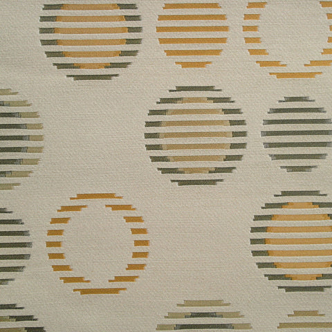 Fabric Remnant of Arc-Com Fabrics Cirque Pebble Ivory Upholstery Fabric