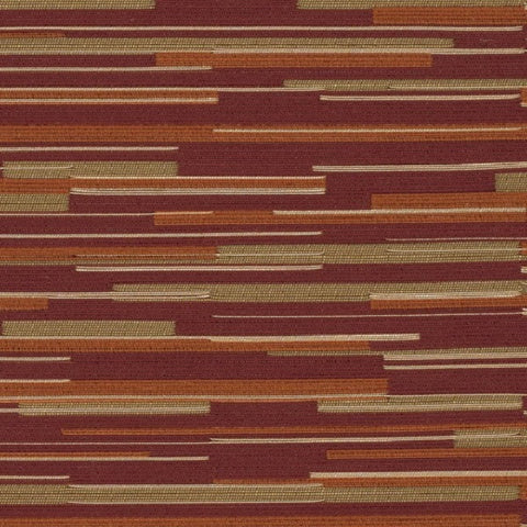 Designtex Fabrics Upholstery Fabric Remnant Dart Blood Orange