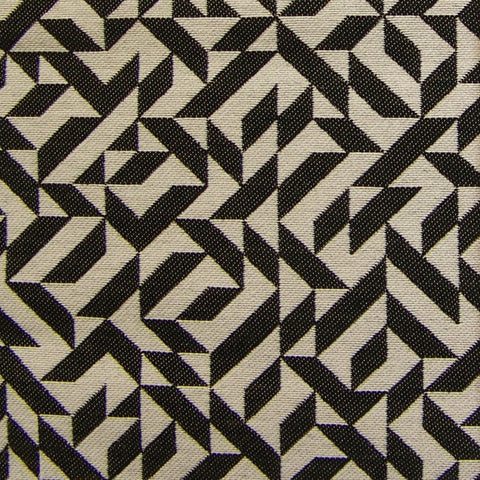 Remnant of Eclat Weave Black Black Upholstery Fabric