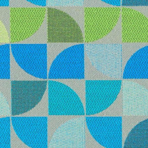 Mayer Fanfare Seabreeze Blue Crypton Upholstery Fabric