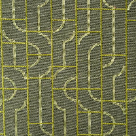 Maharam Fiddle Shadow Geometric Crypton Gray Upholstery Fabric