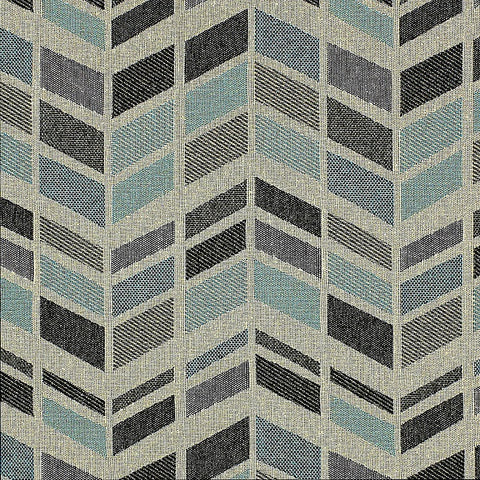 HBF Textiles Upholstery Fabric Remnant High Rise Chrysler