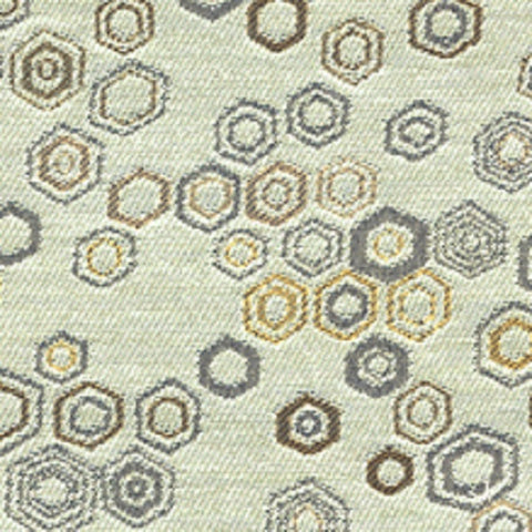 Architex Upholstery Fabric Geometric Design Honeycomb Dundee