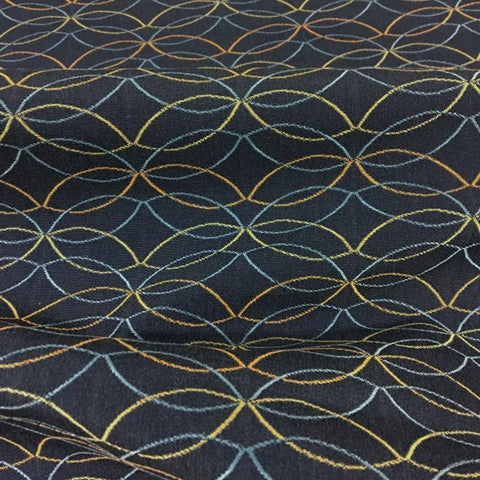 Arc-Com Cascade Twilight Crypton Blue Upholstery Fabric