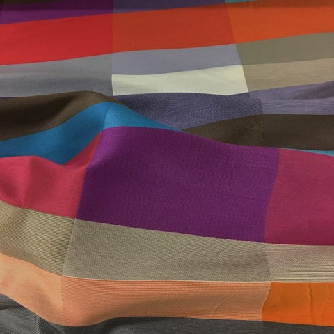 Momentum Aldo Venezia Stripe Multi Colored Upholstery Fabric