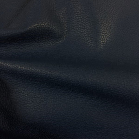 Momentum Bravo Marina Textured Faux Leather Blue Upholstery Vinyl
