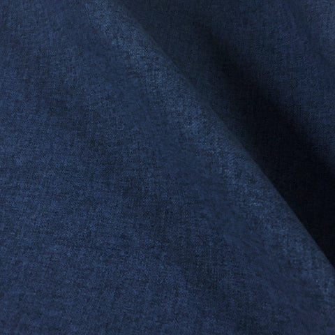Mayer Fedora Indigo Solid Blue Upholstery Fabric