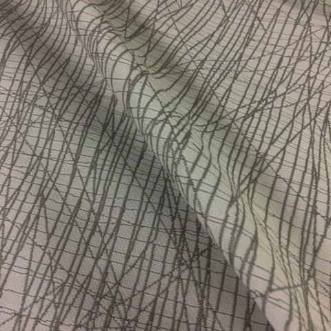 HBF Scribble Xs Grege Abstract Beige Upholstery Fabric