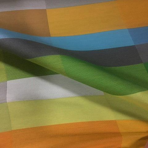 Momentum Aldo Capri Stripe Multi Colored Upholstery Fabric