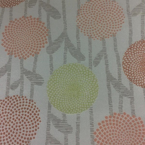 Chipper Alabaster Botanical Beige Crypton Upholstery Fabric