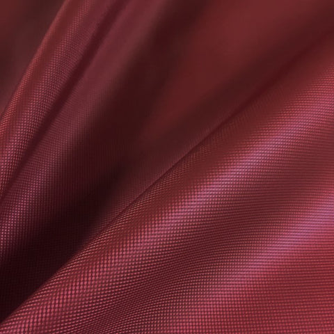 Designtex  Microgrid Wine Textured Red Upholstery Vinyl