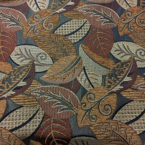 Big Bang Penny Brown Toned Fall Design Upholstery Fabric