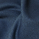 Knoll Hourglass Liberty Textured Blue Upholstery Fabric