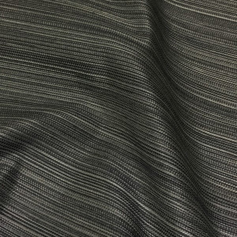 Arc-Com Moon Beam Ash Shimmery Stripe Gray Upholstery Fabric