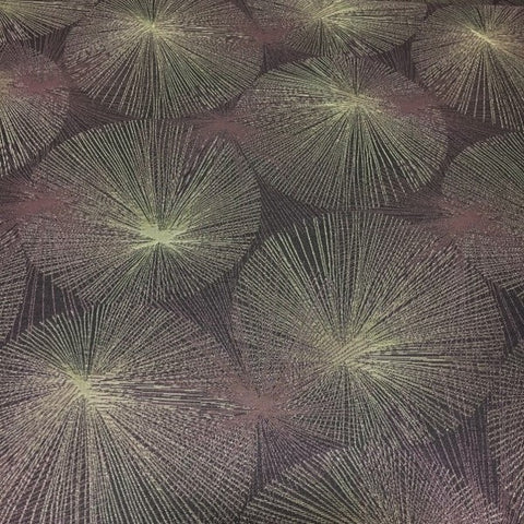 Arc-Com Nova Amethyst Purple Abstract Starburst Upholstery Fabric