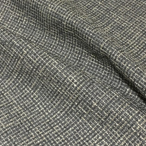 Designtex Hashtag Pewter Weaved Gray Upholstery Fabric