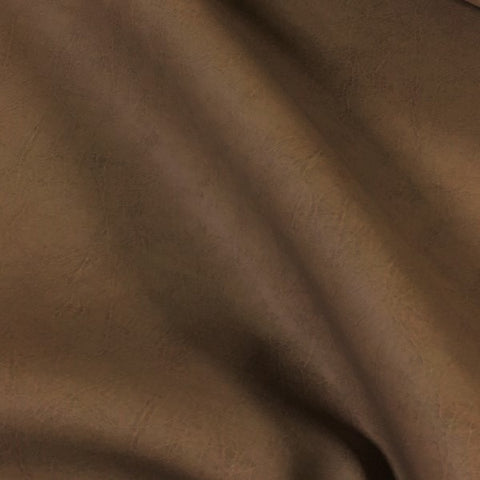 Halo Addison Latte Faux Leather Solid Brown Upholstery Fabric