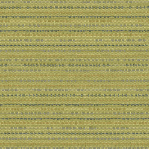 Knoll Bocce Spring Textured Stripe Green Upholstery Fabric