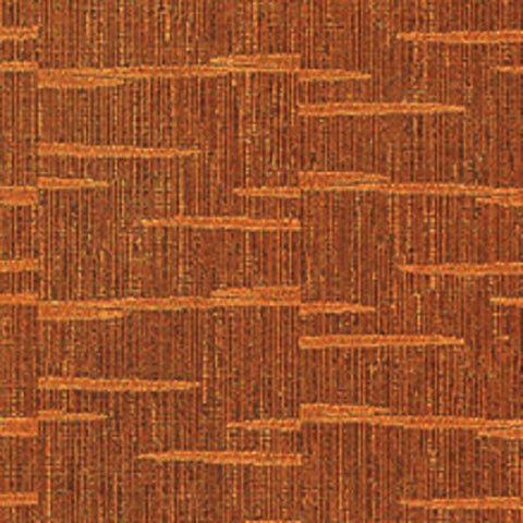 Architex Upholstery Fabric Remnant Matrix Copper