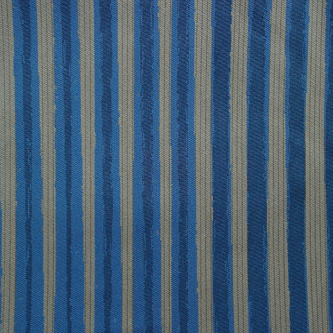 Momentum Textiles Upholstery Fabric Remnant Painting Strokes Lapis