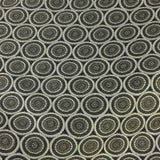 Richloom Hubble Granite Circles Grey Upholstery Fabric