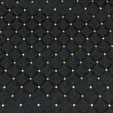 Swavelle Mill Creek Brewster Onyx Diamond Black Upholstery Fabric