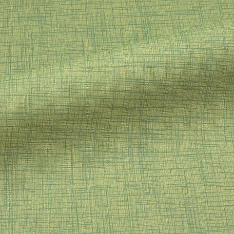 CF Stinson Criss Cross Meadow Green Upholstery Vinyl