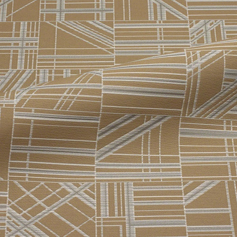 CF Stinson Nest Chanterelle Brown Upholstery Fabric