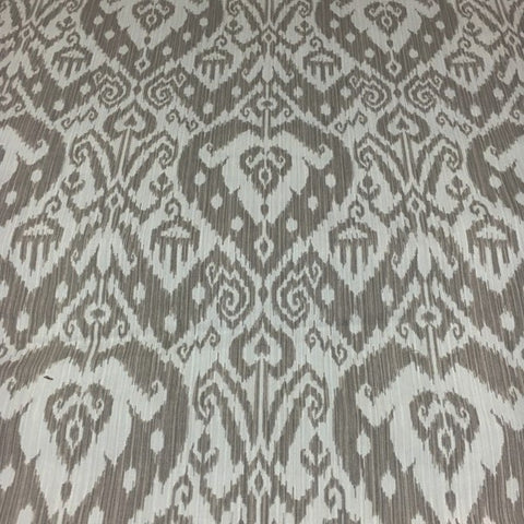Yani Dark Sand Ikat Printed Fabric Better Homes and Gardens